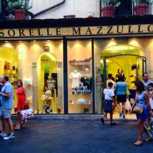 Shopping in Taormina